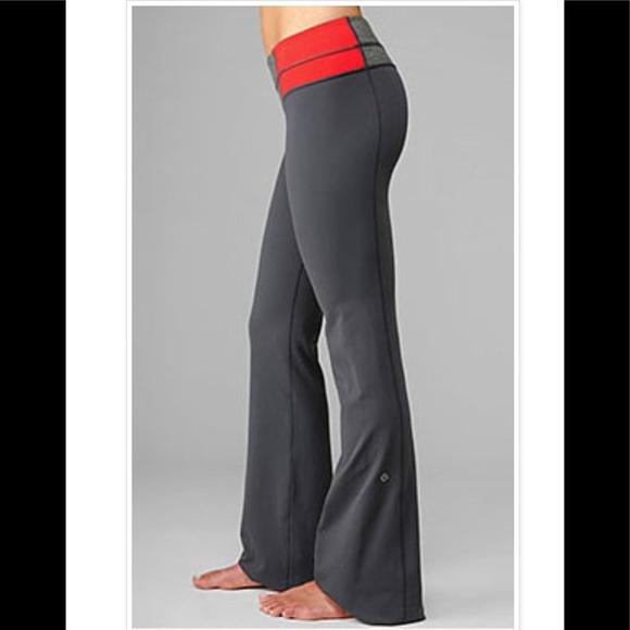 47367216de lululemon athletica Pants | Lululemon Groove Reversible Gray | Poshmark